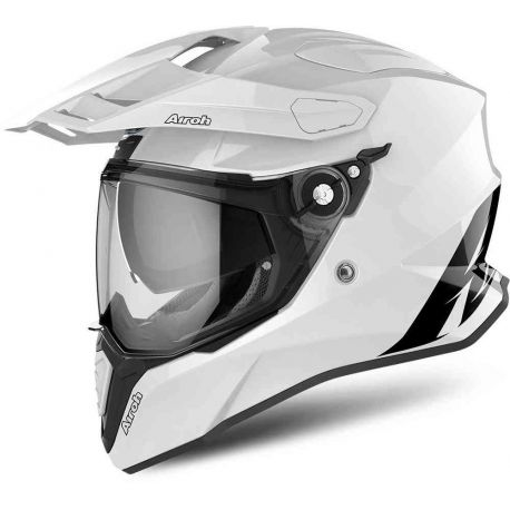 CASCO AIROH COMMANDER COLOR WHITE GLOSS