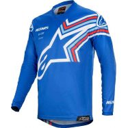 MAGLIA ALPINESTARS YOUTH RACER BRAAP JERSEY BLUE/WHITE