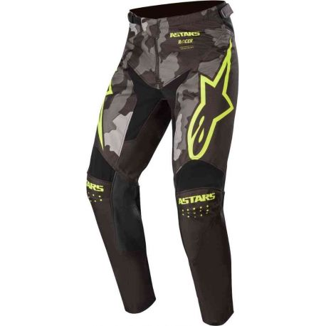 PANTALONI ALPINESTARS TACTICAL PANTS BLACK/GRAY CAMO/YELLOW FLUO