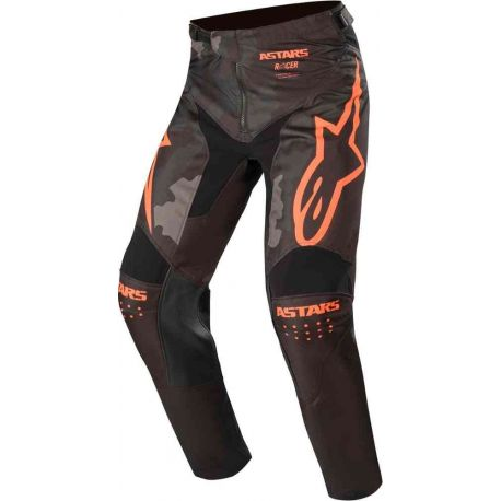 PANTALONI ALPINESTARS TACTICAL PANTS BLACK/GRAY CAMO/ORANGE FLUO