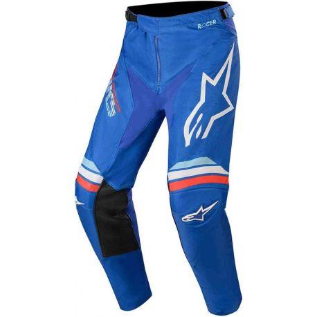 PANTALONI MOTO BAMBINO ALPINESTARS YOUTH RACER BRAAP PANTS BLUE OFF/WHITE