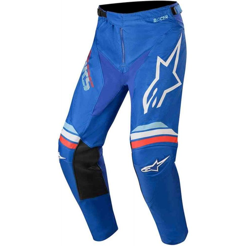 PANTALONI ALPINESTARS YOUTH RACER BRAAP PANTS BLUE OFF/WHITE
