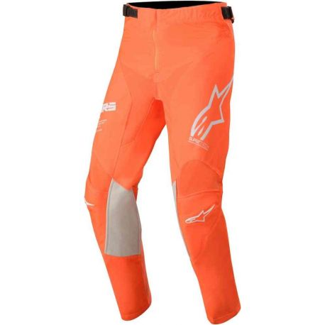 PANTALONI ALPINESTARS YOUTH RACER TECH PANTS ORANGE FLUO/WHITE/BLUE