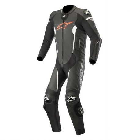 TUTA ALPINESTARS MISSILE LEATER SUIT 1PC BLACK/RED/WHITE