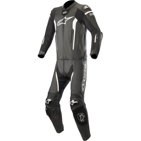 TUTA ALPINESTARS MISSILE LEATER SUIT 2PC BLACK/WHITE