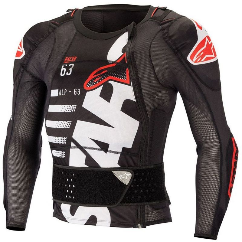 PROTEZIONE ALPINESTARS SEQUENCE PROTECTION JACKET LS BLACK/