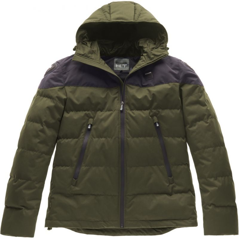 PIUMINO BLAUER EASY WINTER 2.0 VERDE/NERO