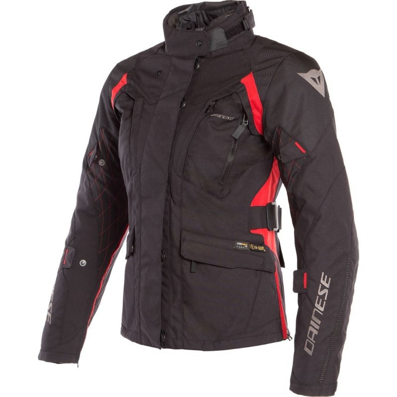 GIACCA DONNA DAINESE X-TOURER LADY D-DRY BLACK/RED