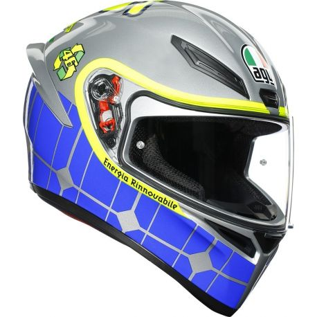 CASCO AGV K-1 TOP ROSSI MUGELLO 2015