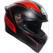 CASCO AGV K-1 WARMUP BLACK/RED