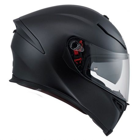 CASCO K-5 S AGV SOLID BLACK MATT