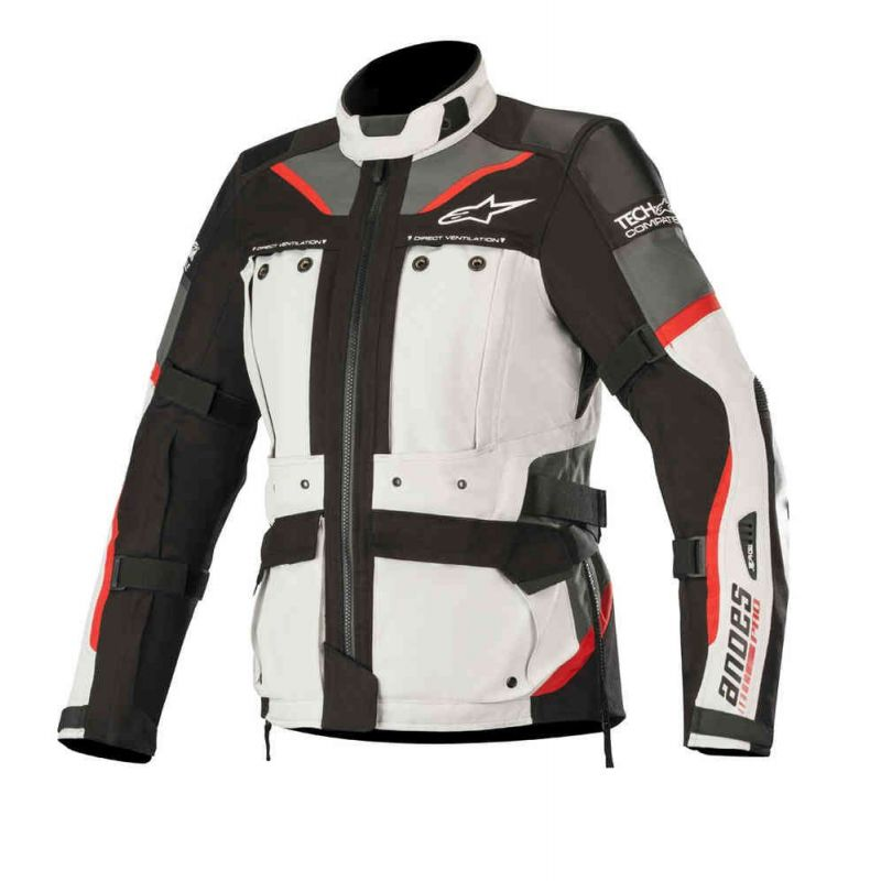 GIACCA ALPINESTARS STELLA ANDES PRO DRYSTAR TECH-AIR COMPATIBLE LIGHT GREY/BLACK/GREY/RED