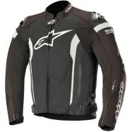 GIACCA ALPINESTARS T-MISSILE DRYSTAR TECH-AIR COMPATIBLE LIGHT BLACK/WHITE