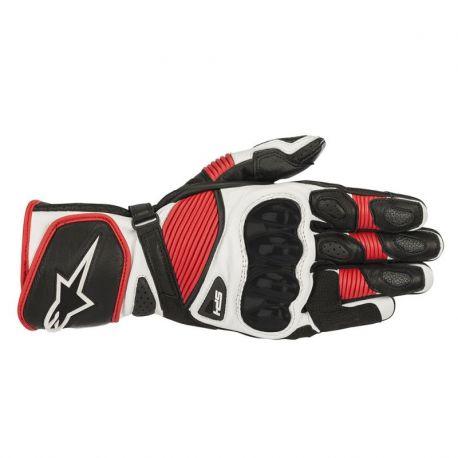 GUANTO ALPINESTARS SP-1 V2 BLACK/WHITE/RED